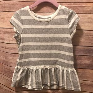 Cat and jack stripe top